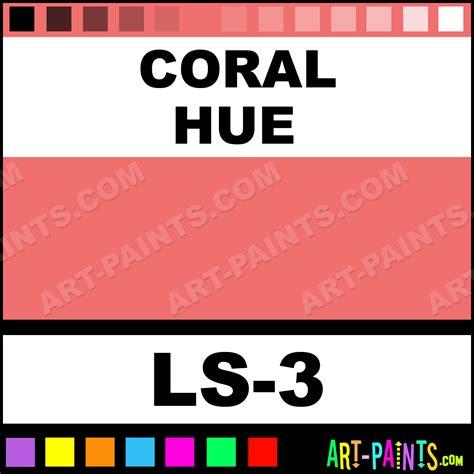 Coral Colored Ls by Coral Lustrous Lipsticks Paints Ls 3 Coral