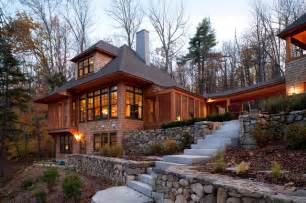 Hunter Green Rugs New Hampshire Lake House Traditional Exterior Boston