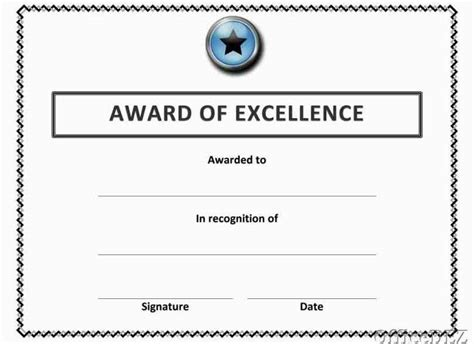 free award certificate templates for students free award certificate templates for students template