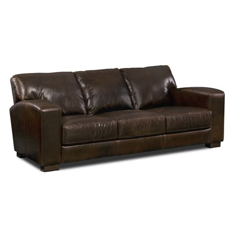 value city sofas grayson leather sofa value city furniture