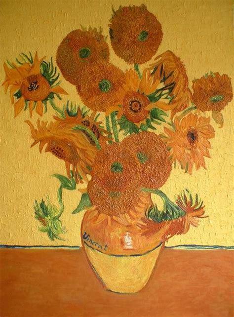 vaso di girasoli di gogh girasoli di gogh da colorare images