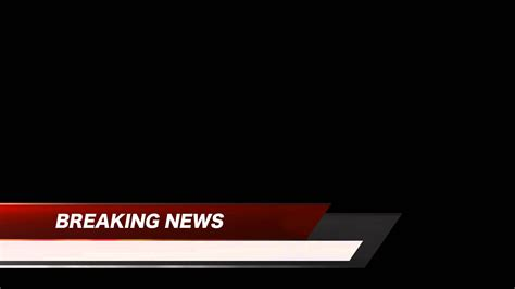 Breaking News Logo Picture Template Banner | breaking news lower third red free hd stock youtube
