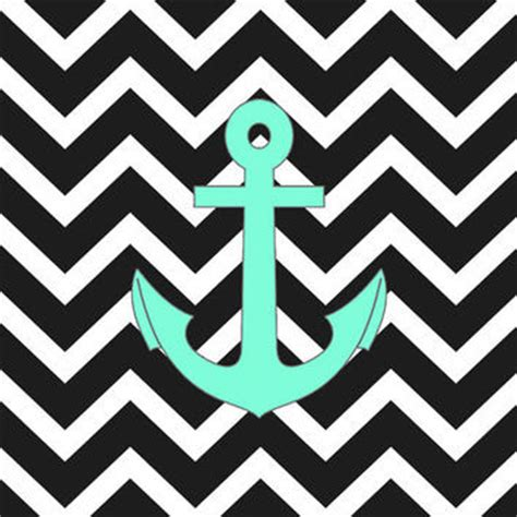 ufo zig zag pattern tiffany turquoise anchor black zigzag from society6 gifts