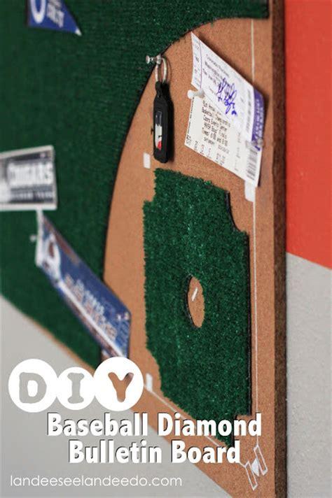 bedroom baseball board game diy baseball diamond bulletin board landeelu com