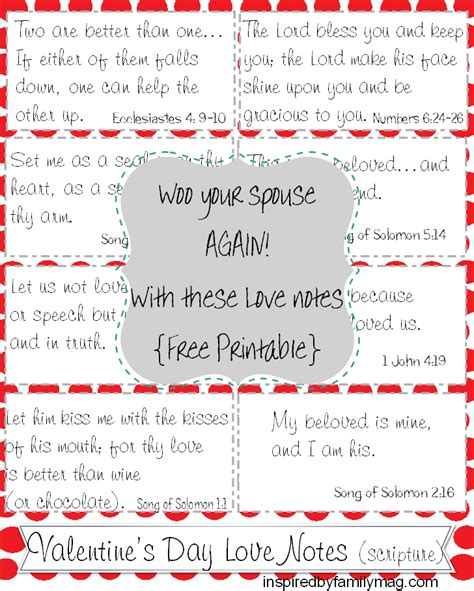 day notes free printable s day notes