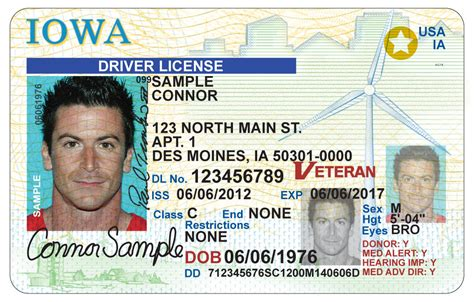 illinois id card template dot eases driver s license changes for transgender iowans