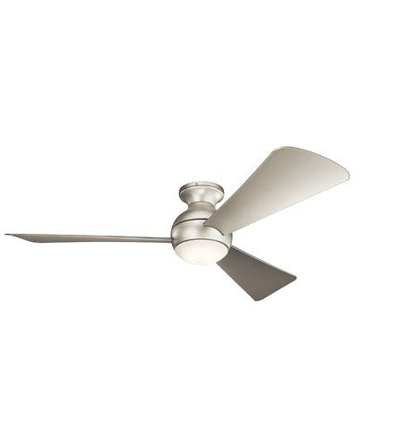 Kichler 330152ni Sola 54 Inch Brushed Nickel With Silver