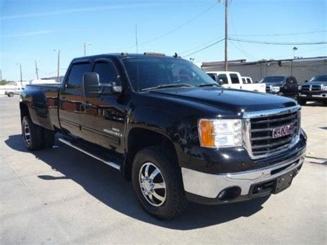 automotive air conditioning repair 2011 gmc sierra 3500 engine control sell used gmc sierra 3500 sle crew cab diesel blk blk new wheels tires dually dodge ford in