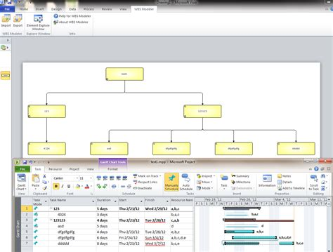 office visio project generate a visio wbs diagram from a project file or a