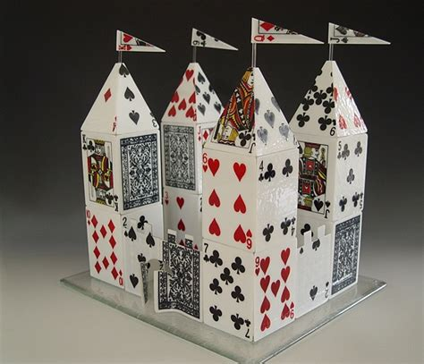 how to make a card castle card castle images usseek