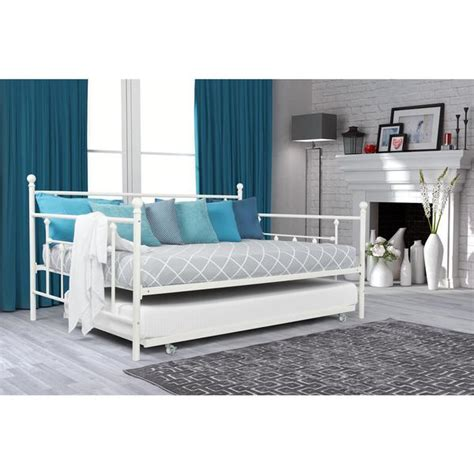 cool twin size daybed on dhp furniture manila twin size dhp white manila full size metal daybed and twin size