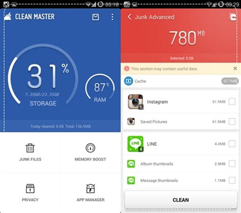 clean master app for android clean master app แก ป ญหา android ช า ด และง ายท ส ด cookiecoffee