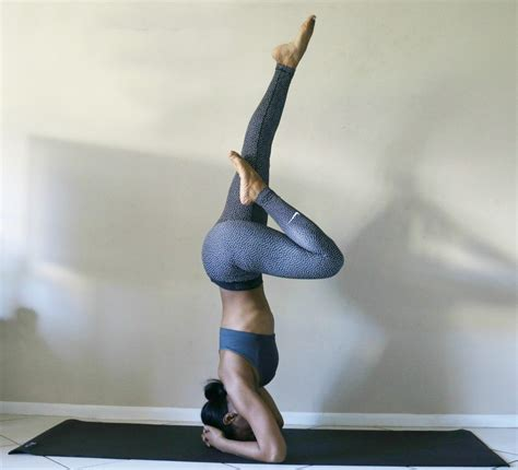 yoga headstand tutorial headstand tutorial for yoga beginners beauty the beat