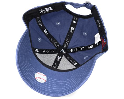 Ess Cap In Blue 5291928 new york yankees mlb league ess wmn blue 9forty adjustable
