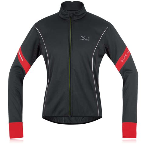 soft shell jacket cycling gore bike wear power 2 0 windstopper soft shell cycling