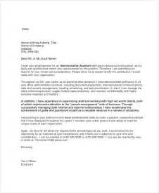 how to write an administrative assistant cover letter 19 email cover letter templates and exles free