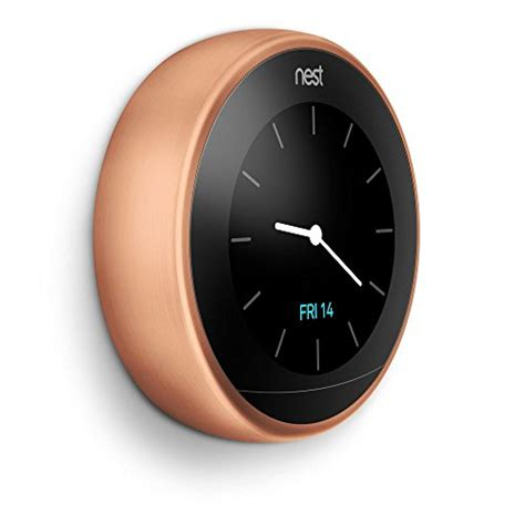 Nest Learning Thermostat, Easy Temperature Control for Every Room in Your House, Copper (Third