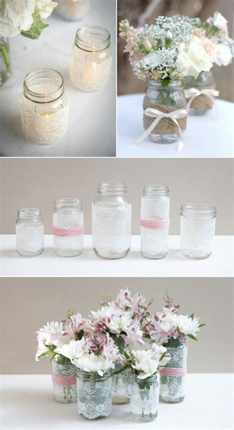wedding table decorations crafts jar wedding decor top 15 most creative diy jar craft ideas bottles jars