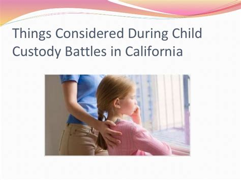 Amid Custody Battle And Keep On Rollin by Things Considered During Child Custody Battles In California