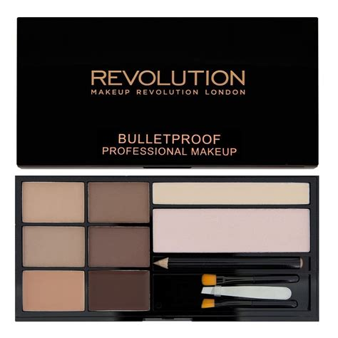 makeup revolution ultra brow bulletproof eyebrow palette