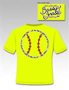 Sassy frass funny softball scripture from simply cute tees
