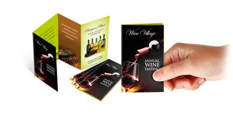 Mini Brochure Template mini brochures printing uprinting