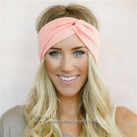 headbands for women over 50 twist elasticity turban headbands for women sport head