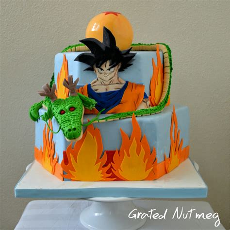 Homemade Decorations For Home by Dragon Ball Z Cake Grated Nutmeg