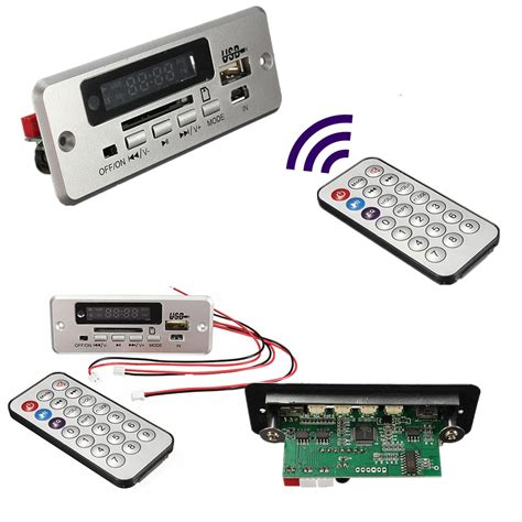 wireless 5v mp3 player integrated wma decoder board audio