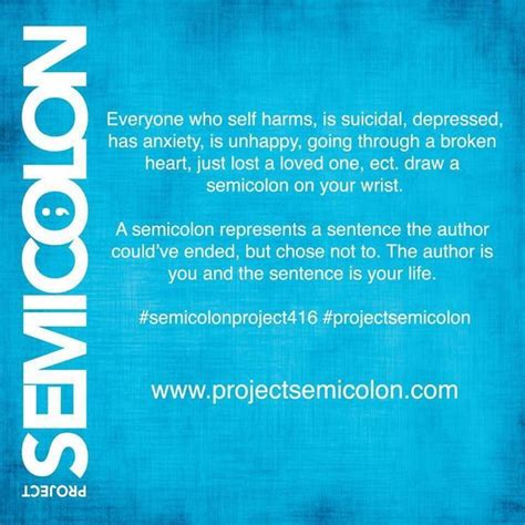 17 best images about semicolon project on pinterest