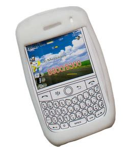 Hp Blackberry Curve 9300 White blackberry curve 8900 9300 white color silica gel skin sewelldirect
