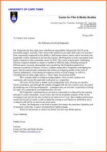 sample letter explicit academic reference letter from