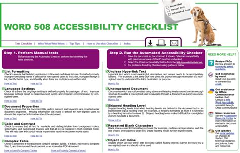 accessibility section 508 overview