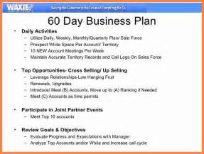 Sales Business Plan Outline by 9 90 Day Sales Plan Template Invoice Exle 2017