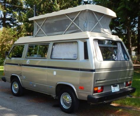 sell   volkswagon riviera full camper  westfalia vanagon worldwide  reserve