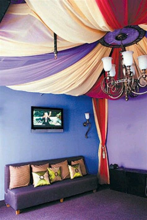 bedroom ceiling fabric draping pinterest the world s catalog of ideas