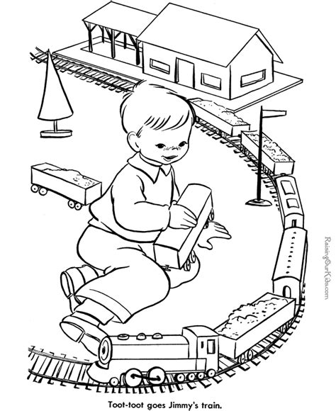 animal train coloring page toy train coloring page 013