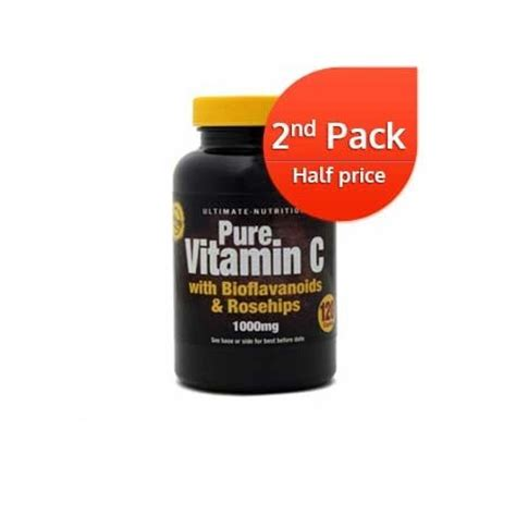Vitaminc Dosage For Detox by Ultimate Vitamin C 1000mg 120 Caplets 2nd Pack 1 2 Price