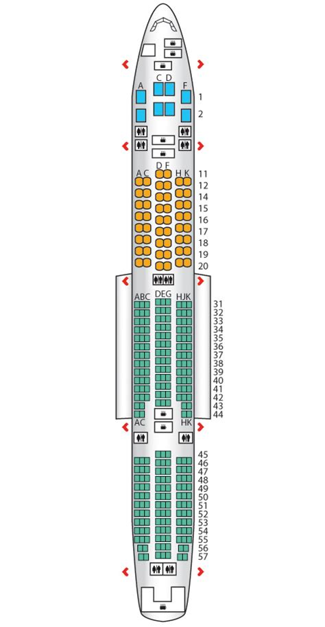air 777 300 seating b777 300 singapore airlines seat maps reviews