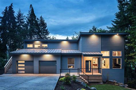 home design eugene oregon forested home in oregon features amazing loft like interiors