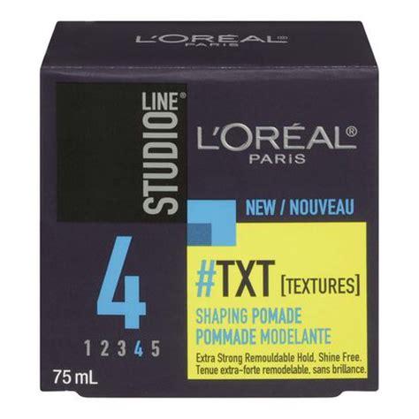 l or 201 al paris studio line out of bed hair styling gel l or 233 al paris studio line txt shaping pomade walmart ca