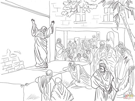 coloring page zechariah at the temple prophet exhorts the israelites to repent coloring