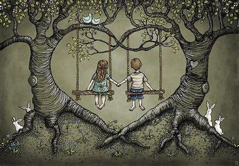 love to swing tree swing tattoo google search my best friend