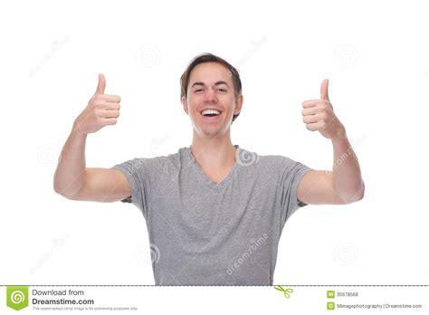 Imagenes Alegres Para Hombres   retrato de un hombre alegre que sonr 237 e con los pulgares