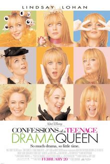 Drama Queen Film Wiki | confessions of a teenage drama queen wikipedia