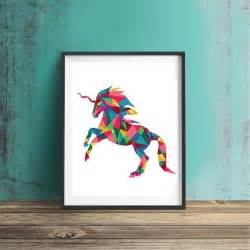 Unicorn Wall Decor by Unicorn Wall Unicorn Poster Unicorn Printable Unicorn