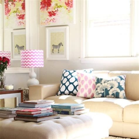 Shabby Chic Bedroom Ideas chic and colorful living room decor for spring