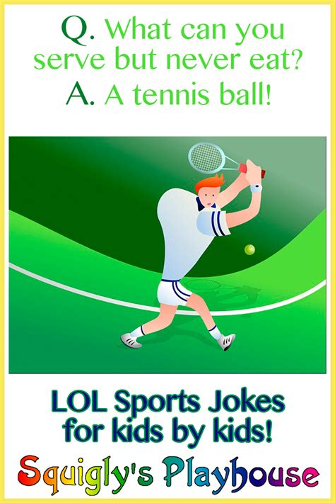 sports jokes at squigly s playhouse