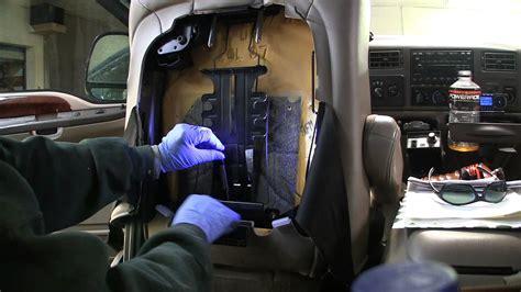 repair broken lumbar support  ford superduty