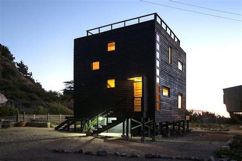 Contemporary Ranch House Plans Cube House By Irene Escobar Doren Caandesign